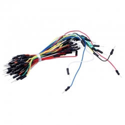 Jumper Cable Wires M-M for breadboard (65 pieces)