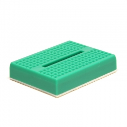 Breadboard mini 170 Tie Point GREEN