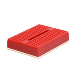 Breadboard mini 170 Tie Point RED