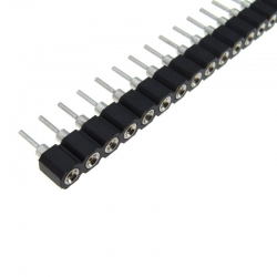 Swiss Machined Pin Header 1x40p 2.54mm