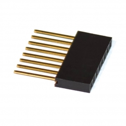 PCB Header Stackable 1x8p (for Arduino)