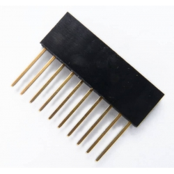 PCB Header Stackable 1x10p (for Arduino)
