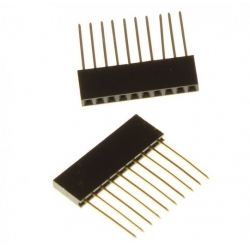 Arduino Header Stackable 1x10p 14.5mm
