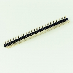 Pin strip angled - 2.54mm 1x40