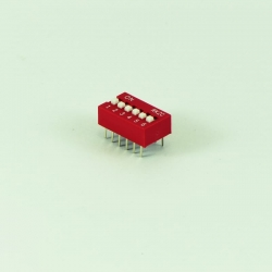 DIP Switch 2.54mm 2p