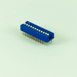 DIP Switch 2.54mm 12p