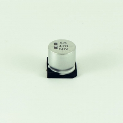 Capacitor electrolytic 470uF,50V