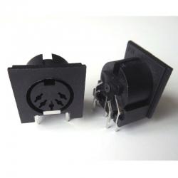 midi-connector-pcb-female-din5