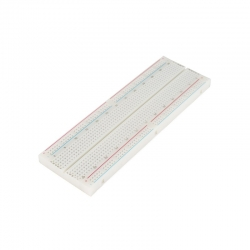 Breadboard Full-Size 830 Tie Points White