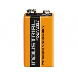 Duracell Battery INDUSTRIAL, 9V, 6LR61 (1pcs)