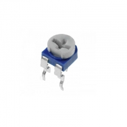Potentiometer / Trimmer, horizontal 100K