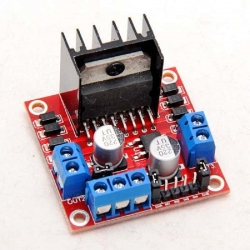 L298N Dual H-Bridge Motor Controller (for Arduino)