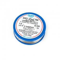 FELDER Soldering Wire, 100gr reel, 1mm, Sn60Pb40