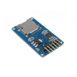 MicroSD Module with SPI interface (for Arduino)