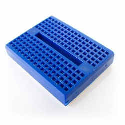 Breadboard mini 170 Tie Point BLUE