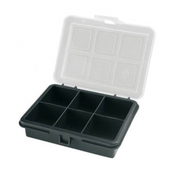 Plastic Organizer Box 120x100x28mm 6 sections