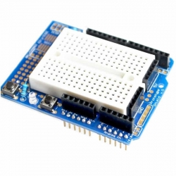 UNO Proto Expansion Shield with breadboard 170