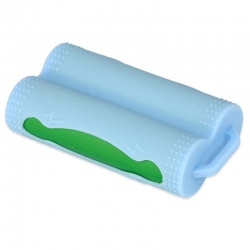 Silicone Battery Holder 2x18650 Blue