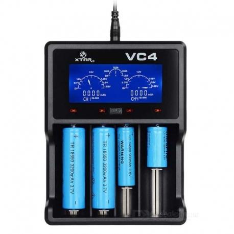 XTAR VC4 Li-Ion Battery Charger - Devobox