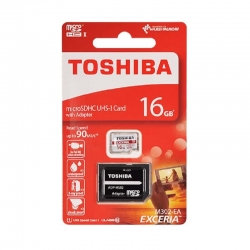 Toshiba micro SDHC UHS-I 16GB Class 10 (with adapter)