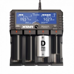 XTAR DRAGON VP4 Plus Li-Ion Battery Charger