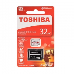 Toshiba micro SDHC UHS-I 32GB Class 10 (with adapter)