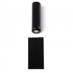 PVC θερμοσυστελλόμενο Tubing για 18650 - Black