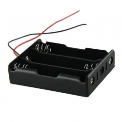 Battery Holder 3x18650 (with Cables)