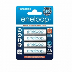 Panasonic eneloop AA Rechargeable Batteries 1900mAh (4pcs)
