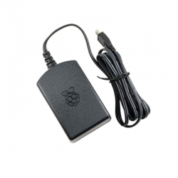 Raspberry Pi Official Power Supply 5.1V 2.5A (Black)
