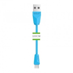 Micro USB Cable 1m GOLF Blue