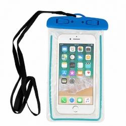 Waterproof Universal Blue v.1 Case for Mobile Phones