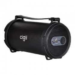 cigii-tube-bluetooth-speaker-s22b-with-radio-black