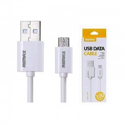 REMAX MicroUSB Data Cable RC-007m - Fast Charging 1m WHITE
