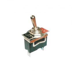 Toggle switch 2pol./2pin ON-OFF 250V/10A