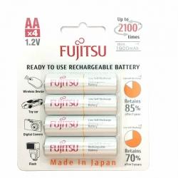 Fujitsu AA Rechargeable Batteries 1900mAh (4pcs)
