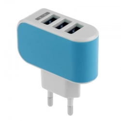 Wall Charger 3 x USB Port EU 3.1A