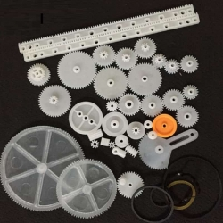 Plastic Mixed Gear Kit 34pcs