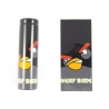 PVC Heatshrink Tubing for 18650 - AngryBirds Black