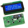 LCD 20x4 with IIC/I2C/TWI SPI, Blue Backlight (for Arduino)