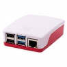 Raspberry Pi 4 Case White & Red