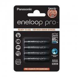 Panasonic eneloop pro AAA Rechargeable Batteries 930mAh (4pcs)