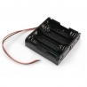 Battery Holder 4 x AA (with Cables)