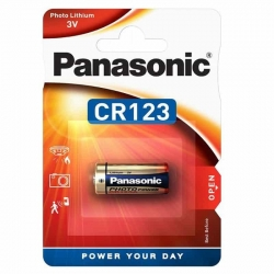 Panasonic Photo Lithium Battery CR123