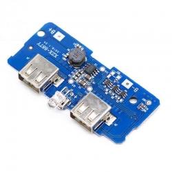 Dual USB PowerBank - Step Up & Charging Module