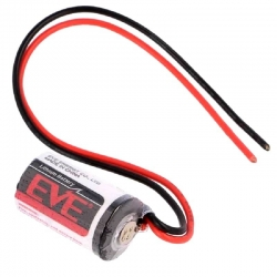 EVE ER14250 AA/2 Lithium Battery 3.6V με καλώδια