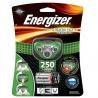 Φακός Κεφαλής Energizer Vision HD+ 3 Led 250 Lumens