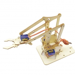 4 DOF Wooden Robotic Arm Kit