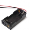 Battery Holder 2 x AAA (with Cables)