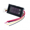 100V 10A LED Dual Digital Meter